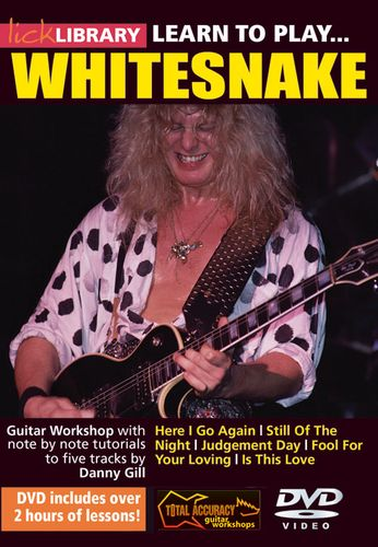 Lick Library Learn To Play Whitesnake