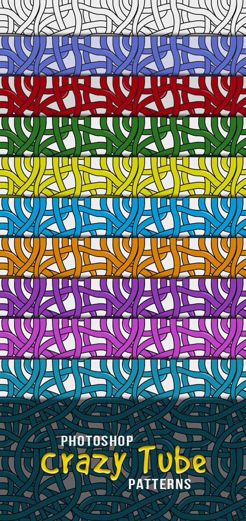 Crazy Tube Photoshop Patterns V1