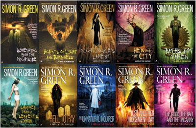 Image result for Simon R. Green