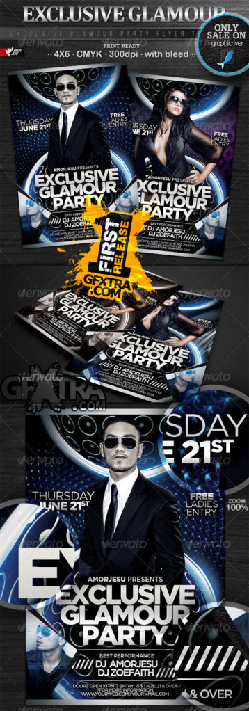 GraphicRiver Exclusive Glamour Party Flyer Template Reup