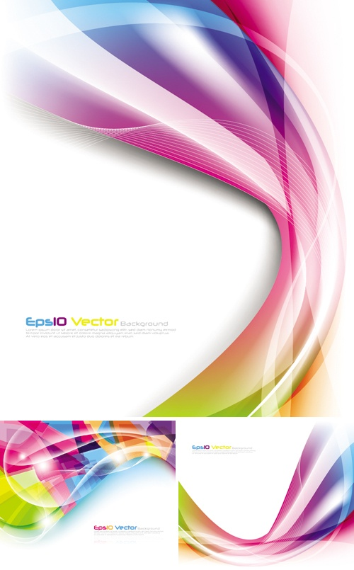 Multicolor Backgrounds Vector
