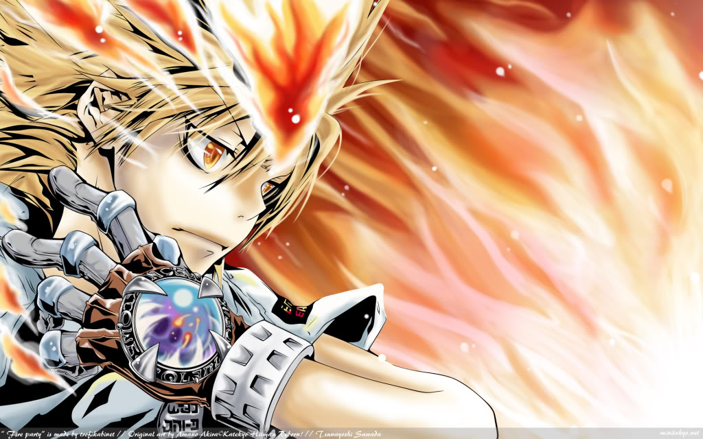 HQ HITMAN REBORN WALLPAPERS