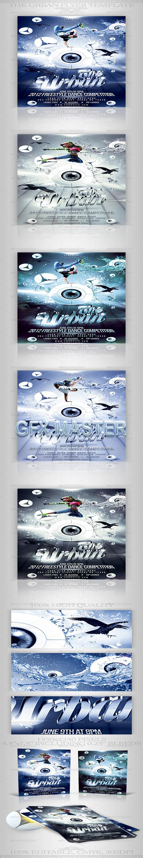 GraphicRiver - The Urban Dance Competition Party Flyer