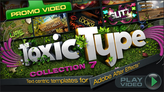 ToxicType: Collection 7 (for After Effects)