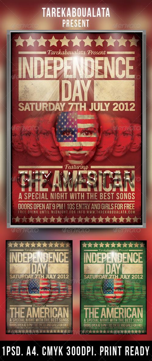 GraphicRiver - Independence Day Flyer
