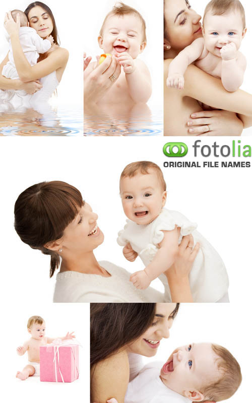 Stock Photo - Mother and Baby #3