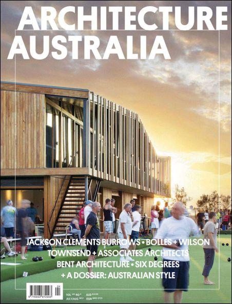 Architecture australia magazine july august 2012 for D architecture magazine