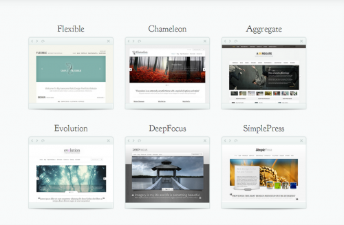 Elegant Themes - Responsive Themes Collection with PSD