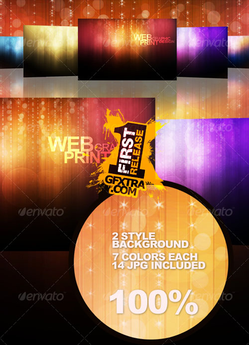 GraphicRiver: Light Bokeh Abstract Background