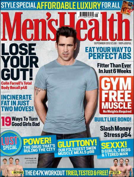Men's Health UK - September 2012