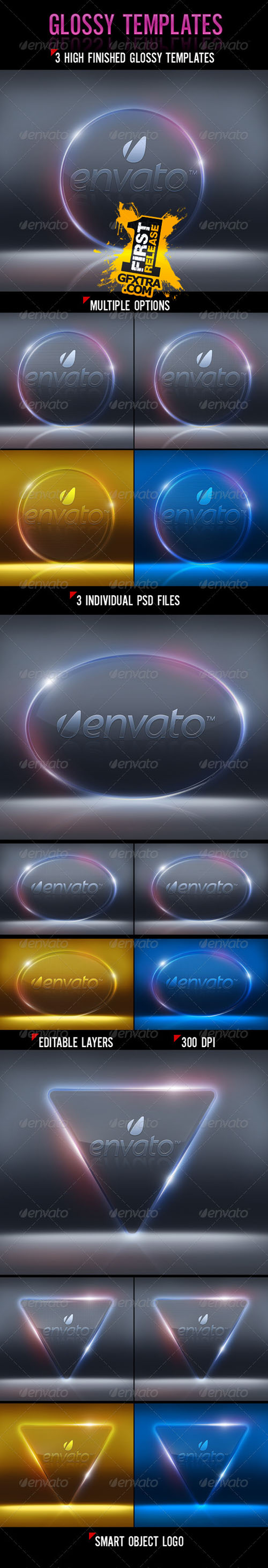 GraphicRiver: Glossy Templates