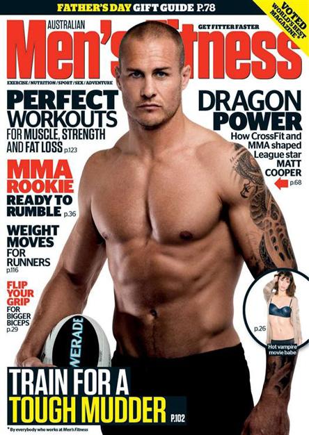 Men s fitness september 2012 australia