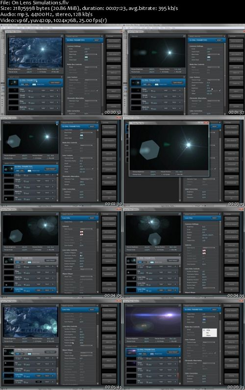 Video Copilot: Optical Flares Tutorials - Basics, Intermediate And Advanced
