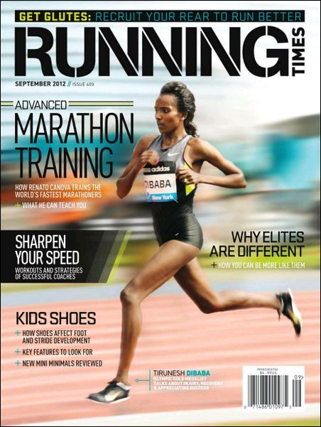 TODAY ONLY Running Times Magazine...
