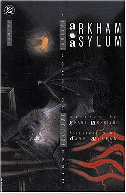 Batman Arkham Asylum Graphic Novel - Morrison