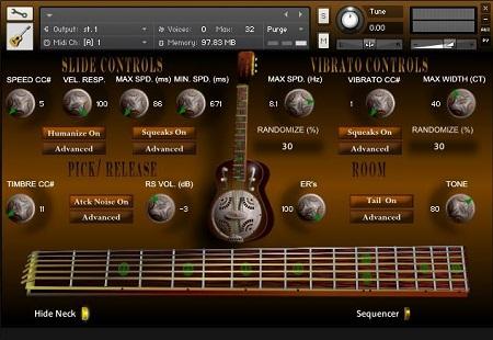 Wavelore Glide Resonator Slide Guitar