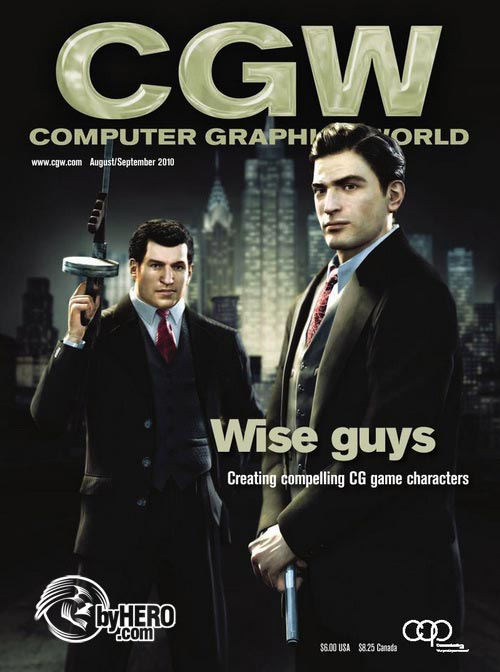 Computer Graphics World Magazine August/September 2010
