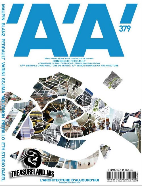 L\'architecture d\'aujourd\'hui – September/October 2010