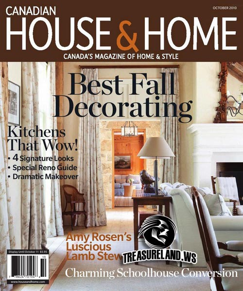 Canadian House & Home - October 2010