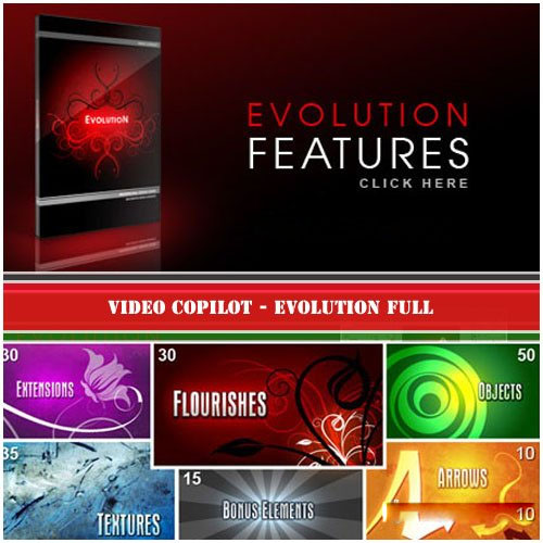 VideoCopilot Evolution Full DVD