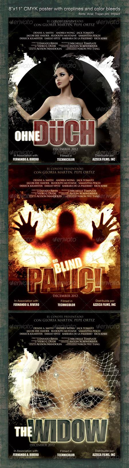 Graphicriver 8.5x11 Poster Panic
