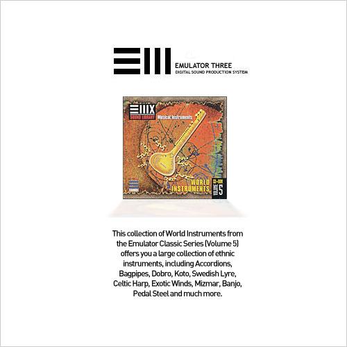 E-MU Classic Series Vol.5 World Instruments EMU (1 cd)
