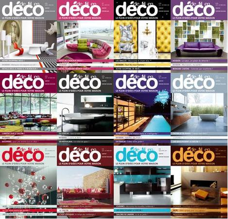 De Fil en Deco Magazine Collection N°01 - N°25