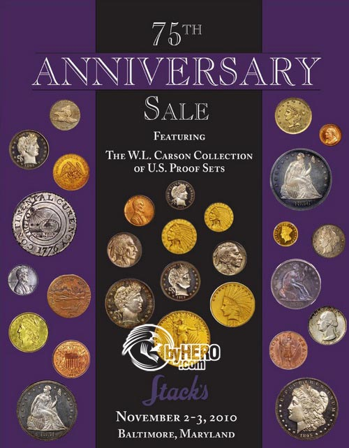 75th United States Coins, Tokens, Medals, and Paper Money