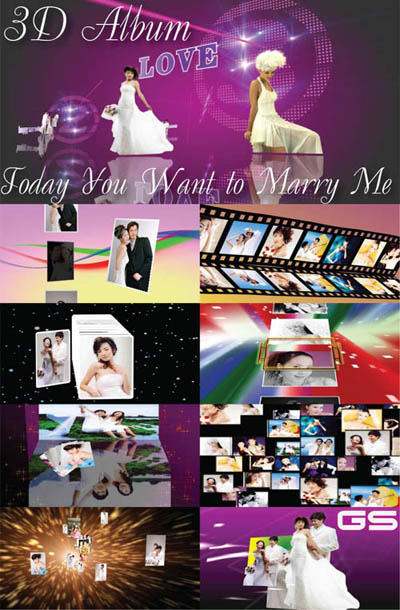 3D Album: Today You Want to Marry Me Z9102