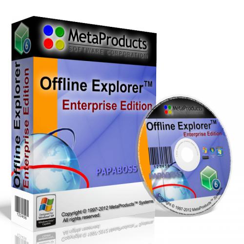 MetaProducts Offline Explorer Enterprise 6.7.3994 Full Key Free Download