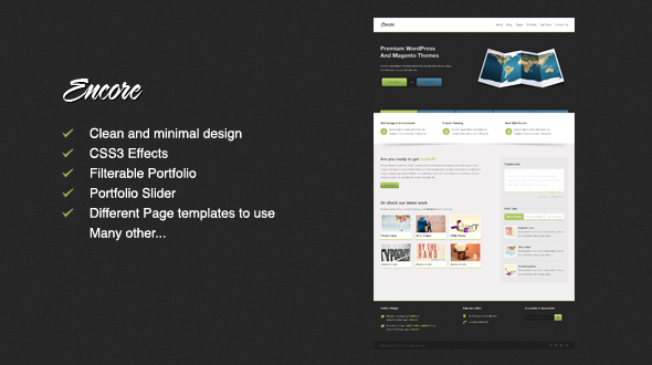 MojoThemes - Encore - Business HTML Template