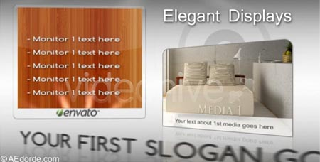 Videohive Elegant displays After Effects Project