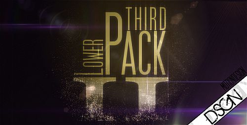 VideoHive - Lower Third Pack Vol.2 FullHD