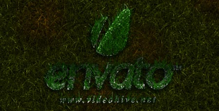 Videohive Grass Logo Reveal After Effects Project