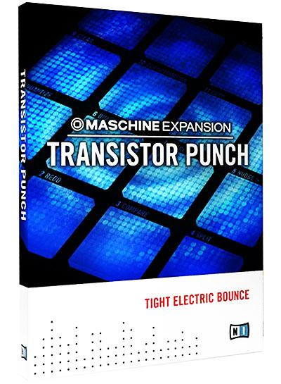 Native Instruments Maschine Expansion Transistor Punch-R2R