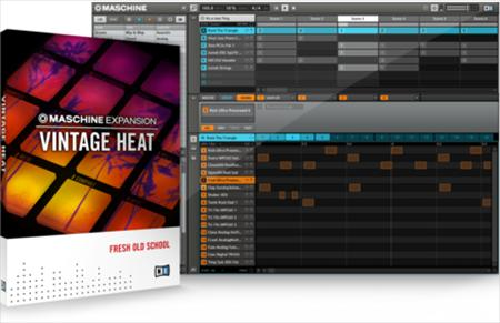 Native Instruments Maschine Expansion Vintage Heat-R2R