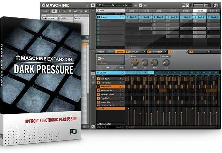 Native Instruments Maschine Expansion Dark Pressure-R2R