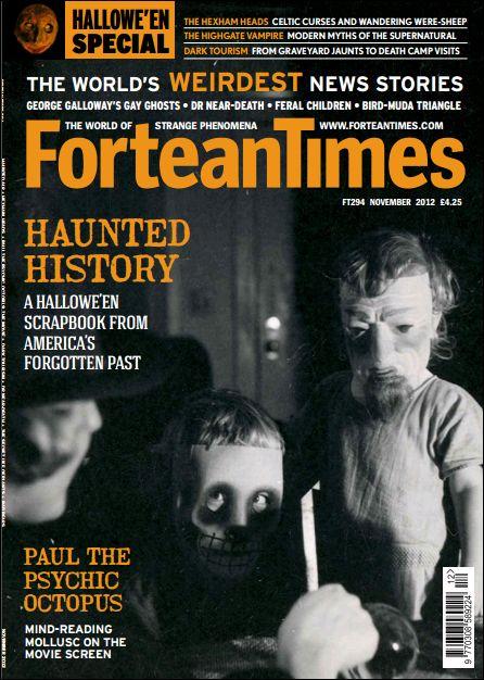 Fortean Times November 2012