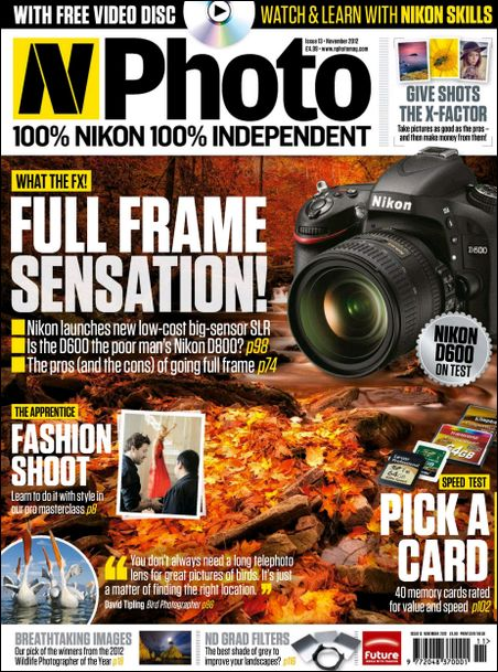 N-Photo: the Nikon magazine - November 2012 (HQ PDF)