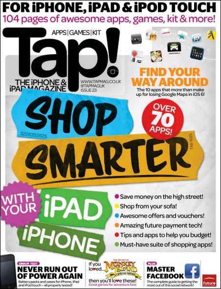 Tap The iPhone and iPad Magazine December 2012