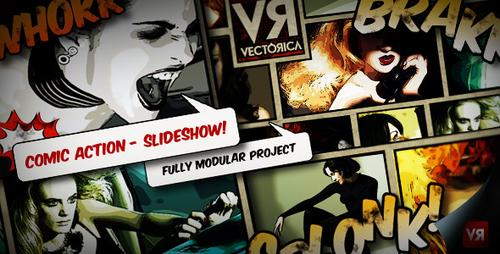 VideoHive - Comic Action - Slideshow