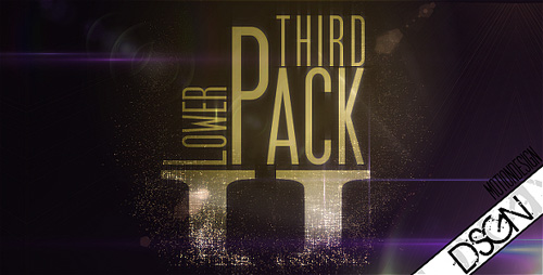 After Effects Project - Lower Third Pack Vol 2