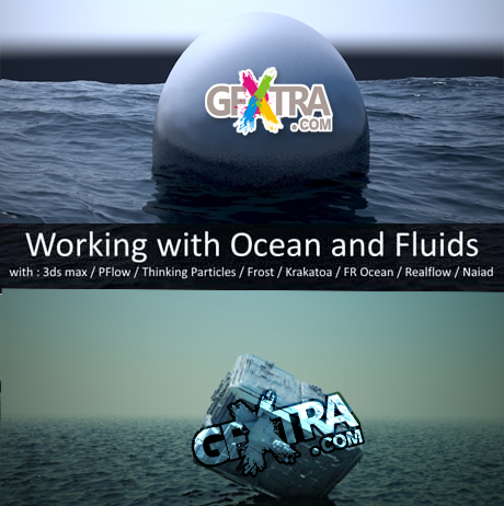 CGCookie - Working with Ocean and Fluids 1 to 13 (2012)