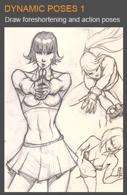 IDrawGirls.com - Drawing Dynamic & Foreshortened Figures