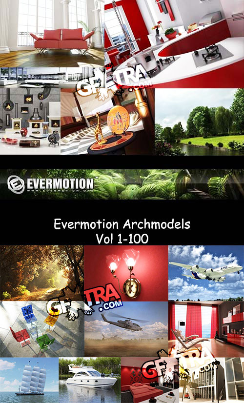Evermotion Archmodel Mega Collection 1 to 100