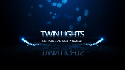 Twin Lights - After Effect Template