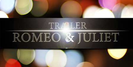 VideoHive Romeo and Juliet Trailer After Effects Project