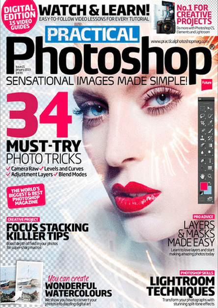 Practical Photoshop UK - January 2013