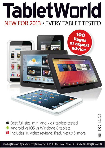 Tablet World Edition 3 - 2013 / UK