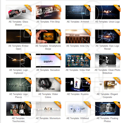 After Effect Projects Pack No 1